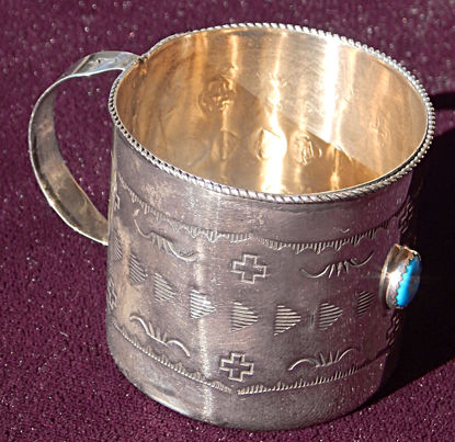 Silver Baby Cup A