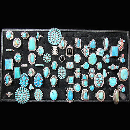 Picture for category Navajo Pawn Pins And Rings