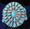 Picture of Turquoise Cluster Bracelet
