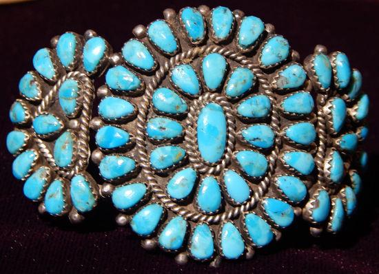 Navajo cluster bracelet 09a