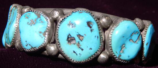 Navajo row bracelet 13a