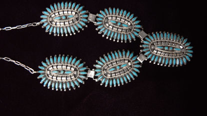 Navajo Needle Point Necklace a