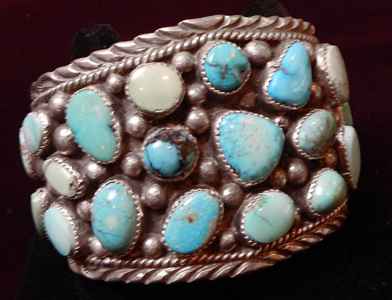 Multi Turquoise Stone Bracelet C