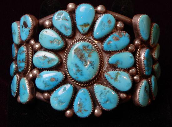 Navajo Cluster Bracelet F